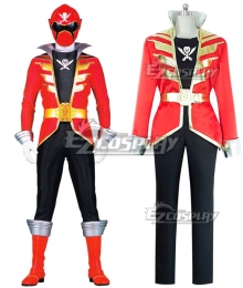 Power Rangers Super Megaforce Super Megaforce Red Cosplay Costume