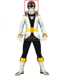 Power Rangers Super Megaforce Super Megaforce Silver Helmet Cosplay Accessory Prop