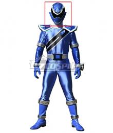 Power Rangers Super Sentai Mashin Sentai Kiramager Kiramai Blue Helmet 3D Printed Cosplay Accessory Prop