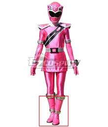Power Rangers Super Sentai Mashin Sentai Kiramager Kiramai Pink Shoes Cosplay Boots