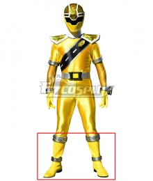Power Rangers Super Sentai Mashin Sentai Kiramager Kiramai Yellow Shoes Cosplay Boots