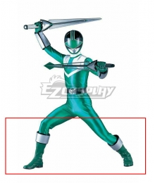 Power Rangers Time Force Time Force Green Green Shoes Cosplay Boots