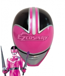 Power Rangers Time Force Time Force Pink Helmet Cosplay Accessory Prop
