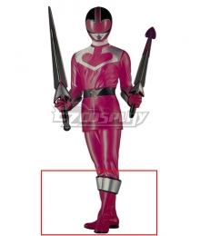 Power Rangers Time Force Time Force Pink Pink Shoes Cosplay Boots