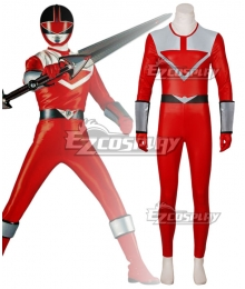 Power Rangers Time Force Time Force Red Cosplay Costume