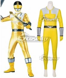 Power Rangers Time Force Time Force Yellow Cosplay Costume