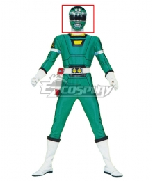 Power Rangers Turbo Green Turbo Ranger Helmet Cosplay Accessory Prop