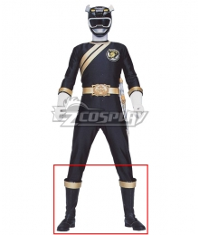 Power Rangers Wild Force Black Wild Force Ranger Black Shoes Cosplay Boots