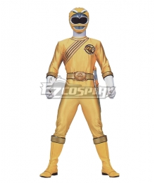 Power Rangers Wild Force Yellow Wild Force Ranger Cosplay Costume