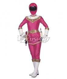Power Rangers Zeo Ranger I Pink Cosplay Costume