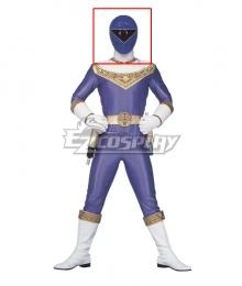 Power Rangers Zeo Ranger III Blue Helmet Cosplay Accessory Prop