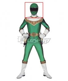 Power Rangers Zeo Ranger IV Green Helmet Cosplay Accessory Prop