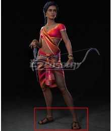 Prince of Persia: Sands of Time Remake Princess Brown Cosplay Shoes