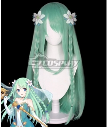 Princess Connect! Re:Dive Chika Misumi Green Cosplay Wig