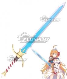 Princess Connect! Re:Dive Eustiana von Astraea Pecoriinu Sword Cosplay Weapon Prop