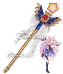 Princess Connect! Re:Dive Hatsune Kashiwazaki Staves Cosplay Weapon Prop