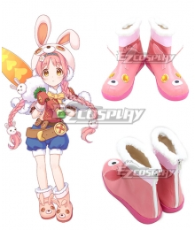 Princess Connect! Re:Dive Mimi Akane Pink Cosplay Shoes