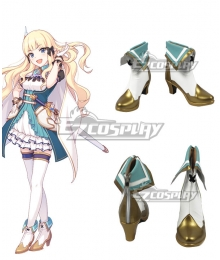Princess Connect! Re:Dive Saren Sasaki White Cosplay Shoes