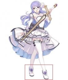 Princess Connect! Re:Dive Shizuru Hoshi no White Cosplay Shoes