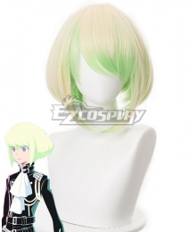 PROMARE LIO FOTIA Mad Burnish Yellow Green Cosplay Wig - 330C