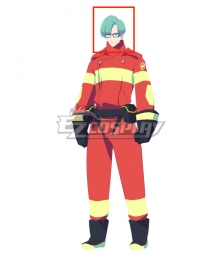 Promare Remi Green Cosplay Wig