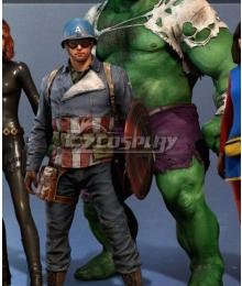 Ps4 Marvel Avengers Captain America Steven Rogers Cosplay Costume