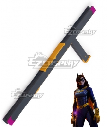 PS5 DC Gotham Knight Batgirl Barbara Gordon Cosplay Weapon Prop