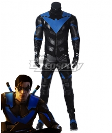 PS5 DC Gotham Knight Nightwing Dick Grayson Cosplay Costume