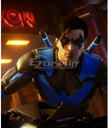 PS5 DC Gotham Knight Nightwing Dick Grayson Cosplay Costume