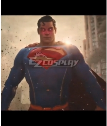 PS5 DC Kill The Justice League Superman Clark Kent Cosplay Costume