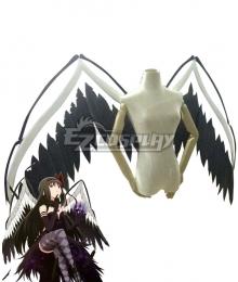 Puella Magi Madoka Magica Devil Homura Akemi Halloween Wings Cosplay Accessory Prop