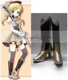 Puella Magi Madoka Magica Tomoe Mami Shoes Cosplay Boots