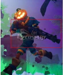 Pumpkin Jack Game Halloween Gun Cosplay Weapon Prop