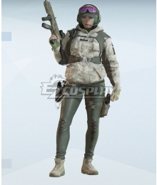 Rainbow Six Siege Ela Cosplay Costume