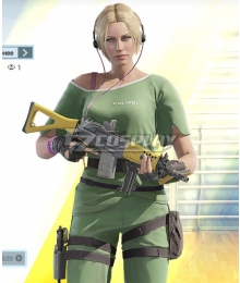 Rainbow Six Siege IQ Elite Skin Cosplay Costume