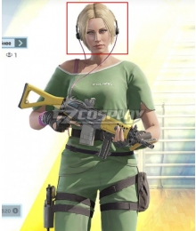 Rainbow Six Siege IQ Elite Skin Golden Cosplay Wig