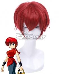Ranma½ Ranma Nibun No Ichi Ranma One Half Ranma Saotome Red Cosplay Wig