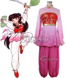 Ranma½ Ranma Nibun no Ichi Ranma One Half Shampoo Pink Cosplay Costume