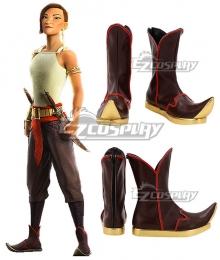 Raya And The Last Dragon Namaari Black Cosplay Shoes