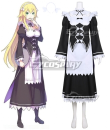 Re:Zero Re: Life In A Different World From Zero Frederica Baumann Cosplay Costume