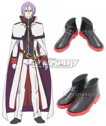 Re: Life In A Different World From Zero Julius Euclius Joshua Juukulius Black Cosplay Shoes