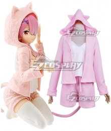 Re: Life In A Different World From Zero Rem Pajamas Cosplay Costume