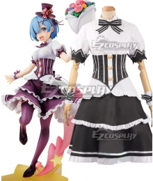 Re: Life In A Different World From Zero Ram Rem Birthday Ver Cosplay Costume