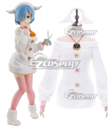 Re: Life In A Different World From Zero Rem Sheep Cosplay Costume