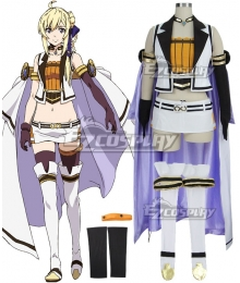 Record of Grancrest War Grancrest Senki Siluca Meletes Cosplay Costume