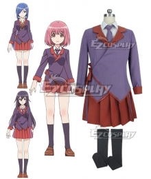 RELEASE THE SPYCE Momo Minamoto Yuki Hanzomon Goe Ishikawa Autumn School Uniform Cosplay Costume