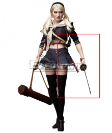 Renders Sucker Punch Babydoll Sword and Sword Scabbard Cosplay Weapon Prop