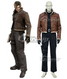 Resident Evil 4 Leon Scott Kennedy Jacket ONLY Cosplay Costume