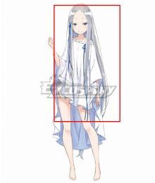 Re:Zero Re: Life In A Different World From Zero Witch of Vainglory Pandora Silver Cosplay Wig