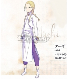 Re:Zero Re: Life In A Different World From Zero Arch Cosplay Costume